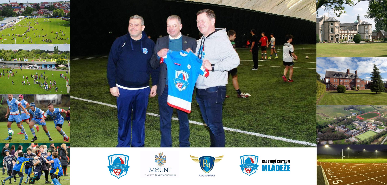 Partnerství mezi RC Mountfield Říčany a anglickou školou Mount St Mary´s College
